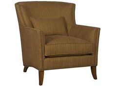 Shop for Vanguard Sullivan Chair, V695-CH, and other Living Room Chairs at Vanguard Furniture in Conover, NC. Fabric, Leather, and Fabric/Leather.