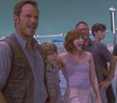 Film Jurassic World, Claire Dearing, Bryce Dallas Howard, Nick Robinson, Chris Pratt, Queen B, Vanity Fair, Girlfriends, Babies