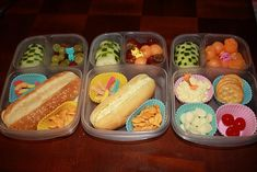 Easy good packed lunches