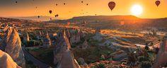9 lugares increíbles para hacer un viaje en globo