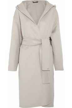 Gucci Hooded wool and angora-blend coat | NET-A-PORTER