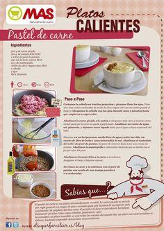 Delicioso el Pastel de carne de nuestra #InfoReceta de hoy :) #Recetas