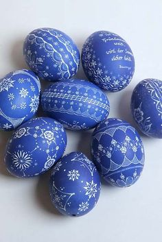 #Páscoa: Decore esta ideia | 5 ideias para #decorar #ovos #HappyEaster #padrões