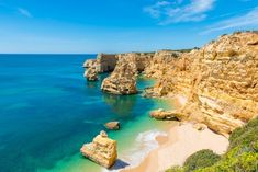 10 reasons why the Algarve is the greatest place on Earth for a family holiday | Via The Telegraph Travel | 16/10/2017 The Algarve is a region of hidden delights, of golden beaches framed by limestone rocks, of small, simple restaurants with fresh fish, and of a wealth of top-quality family hotels and villas at prices that compare favourably to the rest of Europe. #Portugal   Photo: Marinha is the best spot for snorkelling