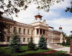 National Museum of History in Chisinau - The Capital of Moldova.    Book Hotels and Apartments with http://cvs.md