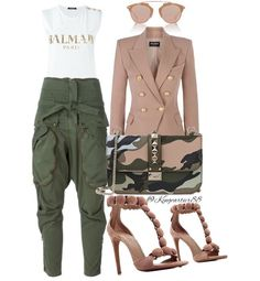 Fierce daytime look, outfit Classy Outfits, Chic Outfits, Fall Outfits, Fashion Outfits, Fashion Trends, Girl Fashion, Fashion Looks, Womens Fashion, Casual Chic