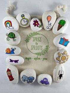 Story Stones: Starter Set by SprigsToSprouts on Etsy