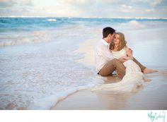 A enchanted trash the dress session on the beaches of punta cana, dominican republic #destinationwedding, wedding photo ideas, beach wedding