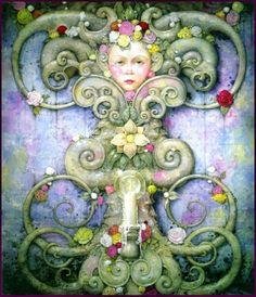 """Faraway Eyes"" ~ Daniel Merriam ~ Watercolorist Extraordinaire ~ Miks' Pics ""Daniel Merriam ll"" board @ http://www.pinterest.com/msmgish/daniel-merriam-ll/"