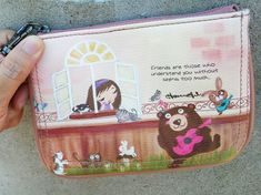 1b4a3d9aa8f9 HosannArt illustration printing pouch