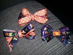 Halloween Bows!