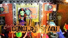 Monster High Special: Casta Fierce Concert Stage with Working Lights