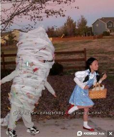 Dorothy & Tornado (F&F Costume) #TheWizardOfOz