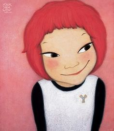 Explore Mary_Joy_Lee& photos on Photobucket. Korean Illustration, Illustration Art, Fated To Love You, Korean Art, Happy Art, Cute Images, Doll Face, Illustrations, Cartoon Characters