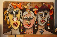 Artista plástico Aldo Anzaloni, estudio arte en Brazil y en Venezuela, actualmente residenciado en Venezuela,  estado Anzoátegui.