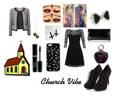 """#Church Vibe"" by embzh ❤ liked on Polyvore"