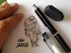 Mini sketch! #stefanotamiazzo #tamiazzo #crayon #bd #bandedessinee #comicart #fumetto www.facebook.com/...