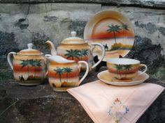 Vintage Hand Painted Nippon Tea Set