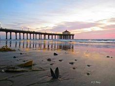 J May Manhattan Beach CA pier. Manhattan Beach Pier, Time Of The Year, Places, Beautiful, Lugares