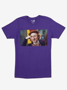 "You can never have too many meme tees. Especially not great ones like this purple tee of the ""Condescending Wonka"" meme from Willy Wonka & The Chocolate Factory . It'll help you talk down to all the people who deserve it. Trust."
