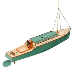 Hornby Tinplate Boat Victoria 1930s