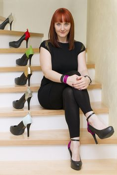 Accessorize your high heel with Austrian designer Ines Shanks