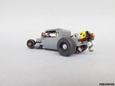 Lego Car, Lego Machines, Lego Police, Block Head, Lego Builder, Lego House, Lego Stuff, Lego Technic, Lego Ideas