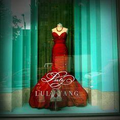 Ruby Mermaid Dress ~ Luly Yang