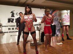 女性格闘家・中井りん選手のコスチュームと肉体に衝撃を受ける人たち「変態仮面?」「板垣漫画そのもの」 #rizinff - Togetterまとめ