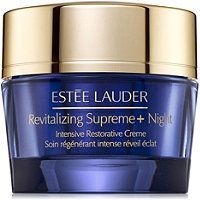 Revitalizing Supreme+ Night Intensive Restorative Creme - Wake up looking radiant, morning after morning. Este Lauder's rich, ultra-nourishing multi-action creme, Revitalizing Supreme+ Night Intensive Restorative Crme, is specially concentrated for night. It leaves skin feeling firmer and significantly reduces the look of lines while you sleep.At the heart of Revitalizing Supreme+ is Este Lauder's exclusive moringa extract. What is moringa? For thousands of years, the moringa plant (often… Narciso Rodriguez, What Is Moringa, Anti Aging, Coco Nucifera, Serum, Natural Protein, Jojoba, Les Rides, Fragrance Parfum