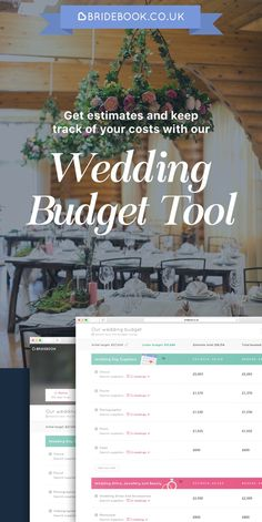 Sign up for free to start managing your budget and tracking your wedding expenses online! We'll help you plan your incredible, unique wedding, so you can experience the unplanned moments...together.