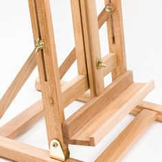 Caballete sobremesa para pintar buscar con google for Caballetes de madera para mesas