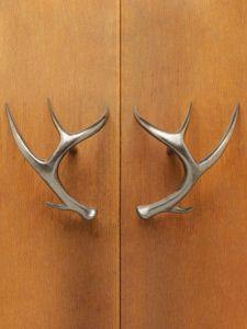 Charmant Antler Door Pulls, Door Handles, Cabin Doors, Cool Doors, Rustic Cabins,