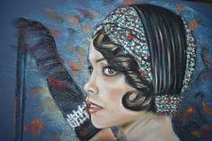 Titolo : Giacline pastello su carta dell'artista Ruggiero Bignardi http://lacortedifelsina.oneminutesite.it