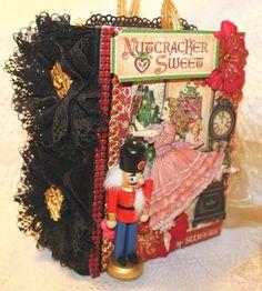 Momz by Cindy A The Nutcracker Sweet Vintage Graphic 45 Premade Scrapbook Album | eBay