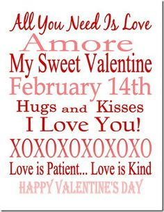 Valentind Day Printable SJB