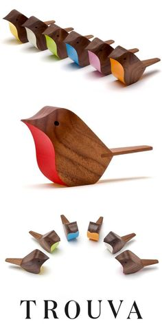 Jacob Pughs handcrafted bird is a simple yet timeless creation. Pughs use of colour gives character to his carved creation. Handcrafted in England. The mint Bird is exclusive to us and our boutique, Indish. Get 7 off your first order with code: Wooden Crafts, Diy And Crafts, Woodworking Plans, Woodworking Projects, Woodworking Quotes, Unique Woodworking, Woodworking Basics, Woodworking Joints, Woodworking Patterns