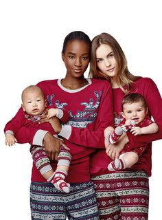 #Undercolors of #Benetton #FW16 #winter #holidays #collection #woman #baby #pajama