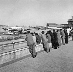 Aeroporto de Congonhas, c. 1953, Alice Brill