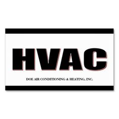 7 best hvac technician business cards images on pinterest business hvac technician bw bold business card wajeb