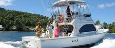 sport fishing day trip on the Luna Sea - deep sea fishing Bora Bora and Tahaa