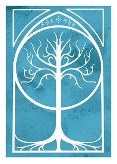 The White Tree - transfer to nightstand per https://m.youtube.com/watch?v=wRzfvc0IVFA