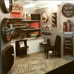 Flashback to last year's setup at Atlanta Market.  New look and new pieces coming to you this year.  See you next week!  #sonoinspired #grateful #reclaimed #madeinusa #winestaves #modernrustic #atlmkt #atlantamkt #homeaccents #americasmart