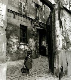 Passage des Gres,1954, Henri Guérard.