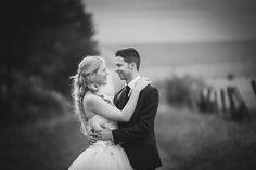 Brautpaar outdoor Hochzeitsfotograf
