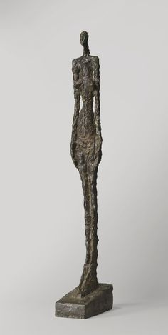 ALBERTO GIACOMETTI 1901 - 1966 FEMME DE VENISE V Inscribed with the signature Alberto Giacometti,  stamped with the foundry mark Susse Fondeur Paris and numbered 3/6 Bronze Height: 43 1/2 in. 110.6 cm Conceived in 1956 and cast in 1958.