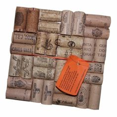 Wine cork trivet. Easy to do if someone in the household drinks wine. :)
