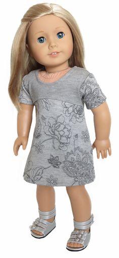 Silly Monkey - Grey Knit Floral Dress, $13.99 (http://www.silly-monkey.com/products/grey-knit-floral-dress.html)
