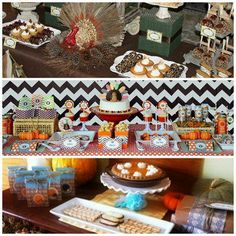 Thanksgiving Dessert Table Ideas