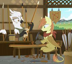 The Strung Stave by Equestria-Prevails.deviantart.com on @deviantART